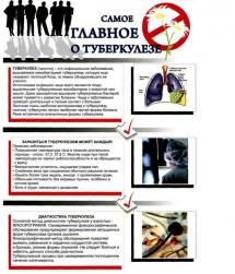 Плакат О-туберкулезе